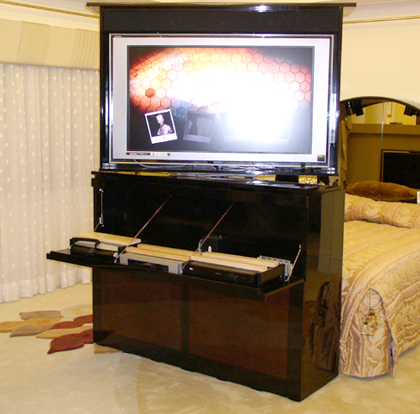 Mechanical Tv Lift Hardware : Tv lift cabinets and automated furniture